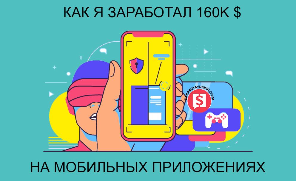 Заработок на приложениях Андроид - оригинальные идеи